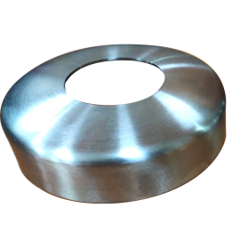 S/S Cover Plate 38.1mm G316 Mirror Radiused