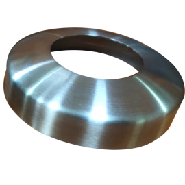 S/S Cover Plate 50.8mm G316 Satin Radiused