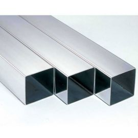 S/S Square Tube 50.8x50.8x1.6mm G304 180 Grit